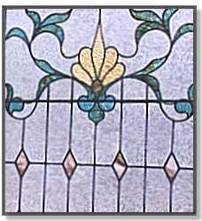 Stained Glass in a foyer